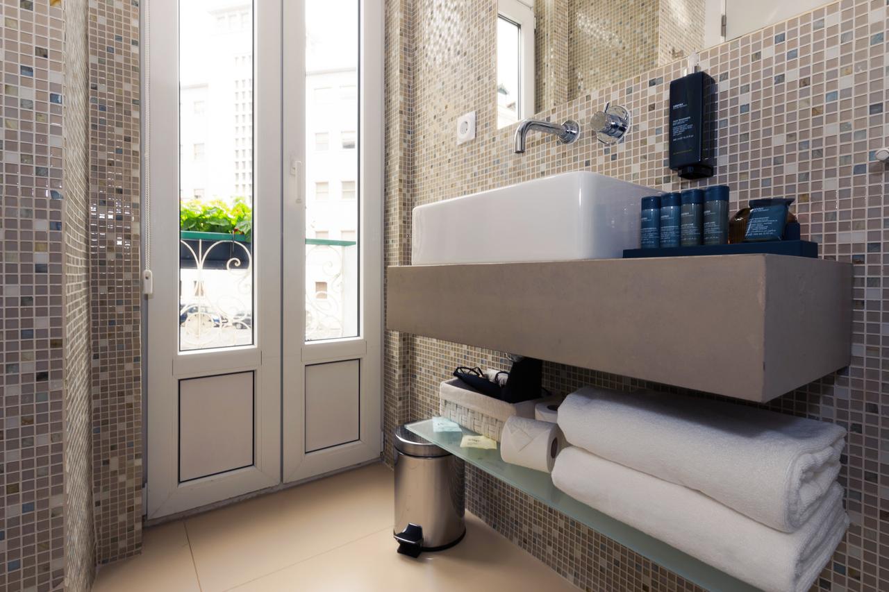 Twin Deluxe Casa de Banho quarto com vista